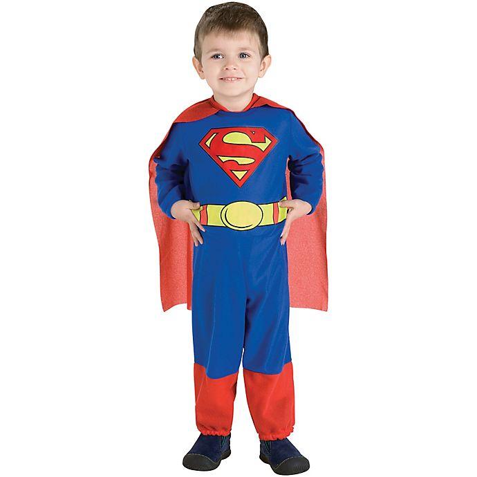 Alternate image 1 for Superman Toddler Halloween Costume
