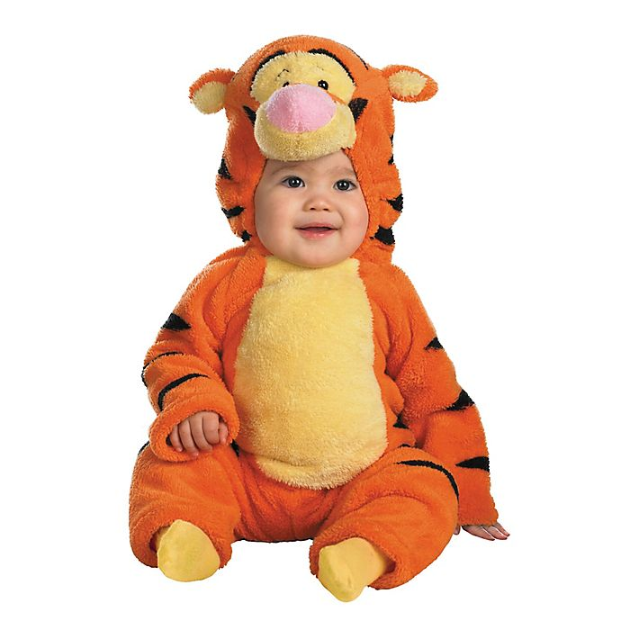 Alternate image 1 for Disney® Winnie the Pooh's Tigger Size 2T Infant Halloween Costume in Orange