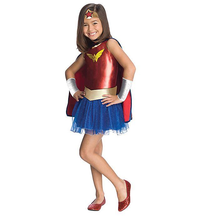 Alternate image 1 for DC Comics™ 2-4T Wonder Woman Tutu Toddler Halloween Costume