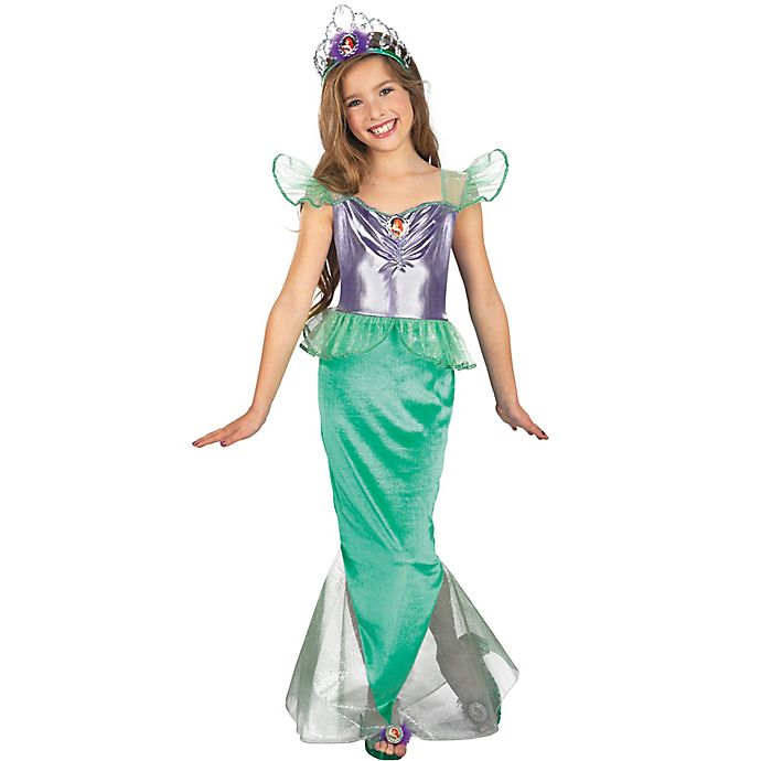 Alternate image 1 for Ariel Large Child's Multicolor Halloween Costume