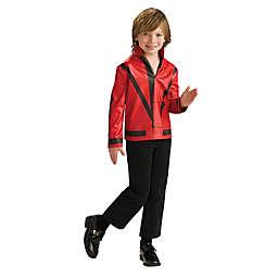 Michael Jackson Child's Thriller Halloween Costume Jacket in Red