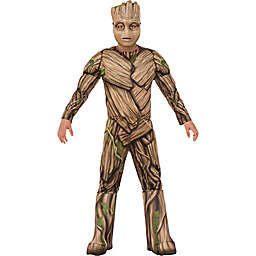 Guardians of the Galaxy Child's Deluxe Groot Costume in Brown