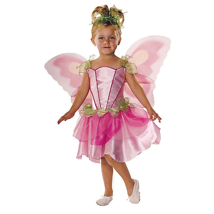 Alternate image 1 for Rubie's Pink Butterfly Fairy Child's Costume