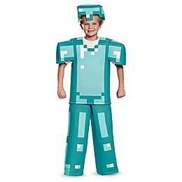 Minecraft Armor Child's Prestige Multicolor Halloween Costume