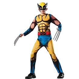 Marvel® Deluxe Wolverine Child's Halloween Costume in Blue/Yellow