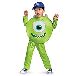 Monster's U Mike Toddler's Classic Halloween Costume in Green