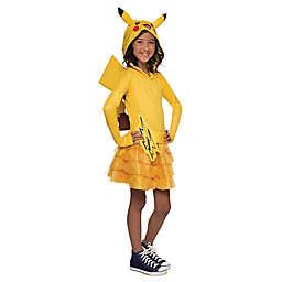 Pokemon Pikachu Child's Hoodie Dress Halloween Costume