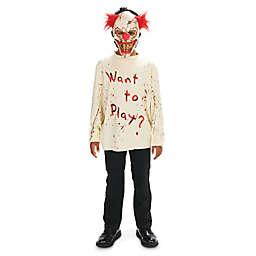 Carn-Evil Playful Clown Child's Halloween Costume
