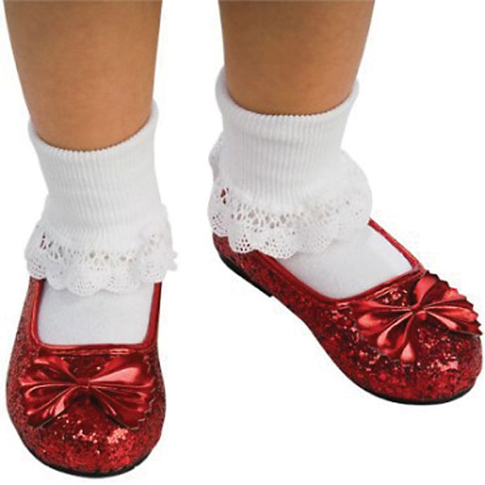 Alternate image 1 for The Wizard of Oz Ruby Child's Slippers