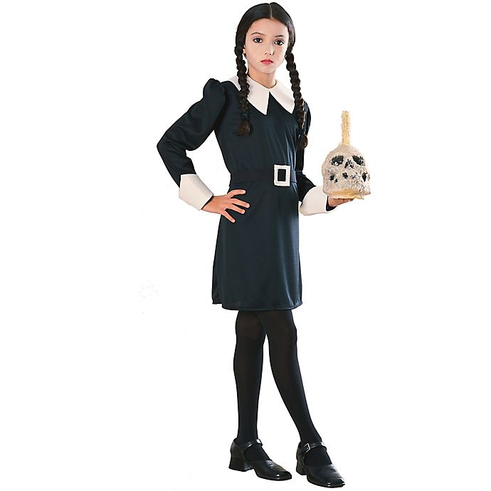 The Addams Family Wednesday Child\'s Halloween Costume | Bed ...