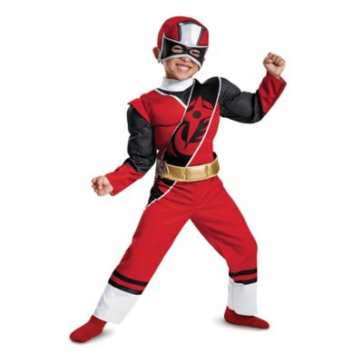 Power Rangers Ninja Steel Red Ranger Child S Muscle