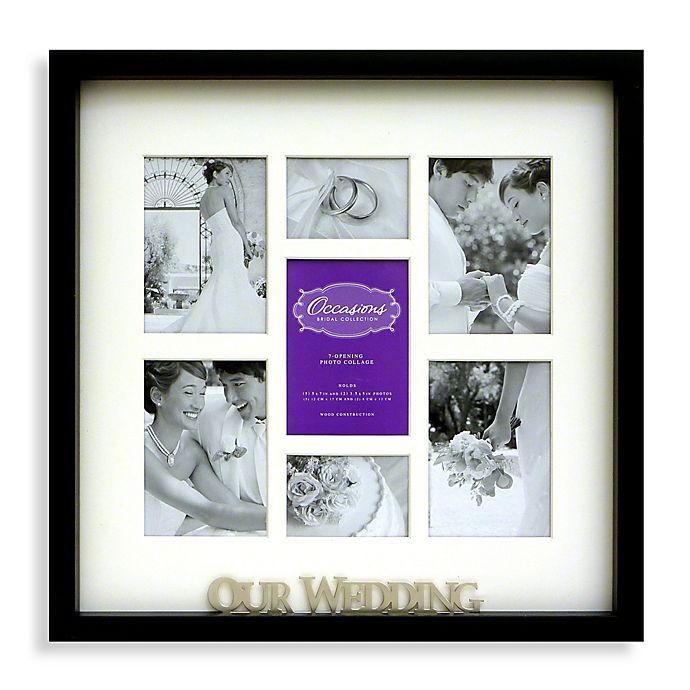 7 Opening Wedding Collage Frame