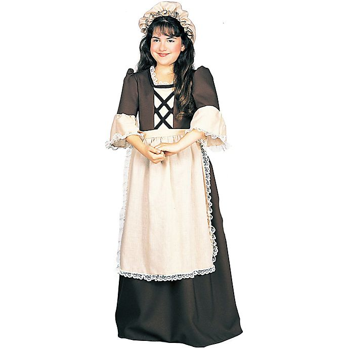 Alternate image 1 for Colonial Girl Child's Halloween Costume