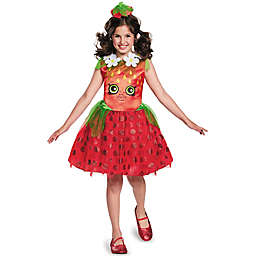 Shopkins Strawberry Kiss Child's Halloween Costume in Red