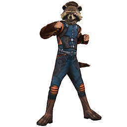 Marvel® Guardian of the Galaxy Rocket Deluxe Child's Halloween Costume in Brown