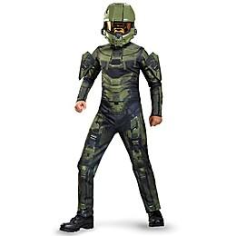 Halo Master Chief Child's Classic Multicolor Halloween Costume