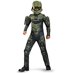 Halo Master Chief Child's Classic Multicolor Halloween Costume