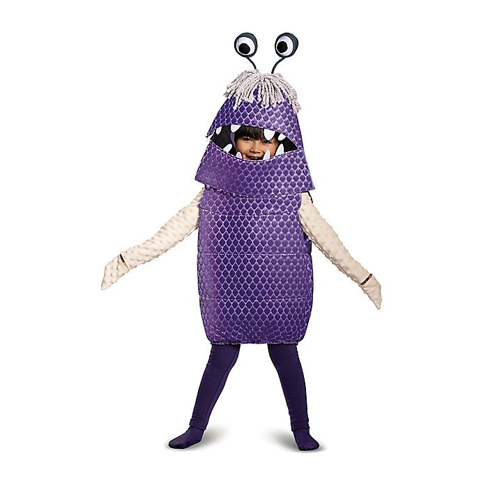 Monsters Inc Child S Deluxe Boo Multicolor Halloween Costume Buybuy Baby