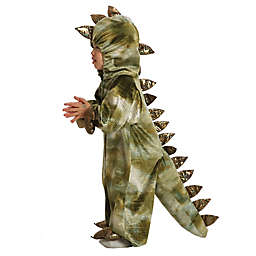 T-Rex Baby/Toddler Halloween Costume in Brown/Green