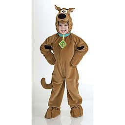 Scooby-Doo Child's Super Deluxe Halloween Costume in Brown