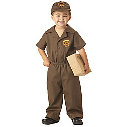 UPS Delivery Guy Toddler/Child Halloween Costume in Brown