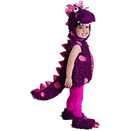 Paige The Dragon Toddler's Halloween Costume in Purple