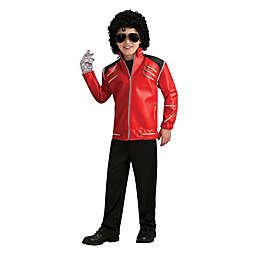 Michael Jackson Deluxe Red Zipper Jacket Child's Halloween Costume