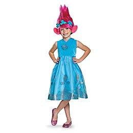 Trolls Poppy Child's Deluxe Halloween Costume with Wig