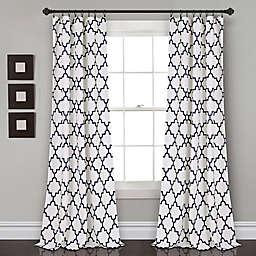 Bellagio 84-Inch Room Darkening Rod Pocket Window Curtain Panels (Set of 2)