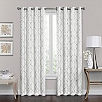 Brent Grommet 84-Inch 100% Blackout Window Curtain Panel in White