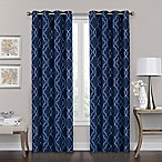 Brent Grommet 100% Blackout 63-Inch Window Curtain Panel in Navy