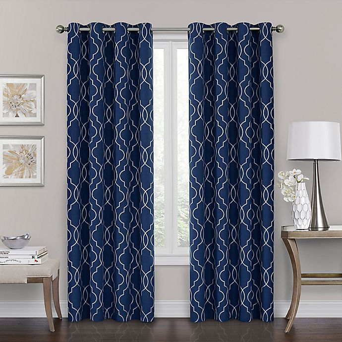 Alternate image 1 for Brent Grommet 100% Blackout Window Curtain Panel