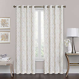 Brent Grommet 100% Blackout  63-Inch Window Curtain Panel in Ivory