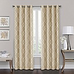 Brent Grommet 84-Inch 100% Blackout Window Curtain Panel in Natural