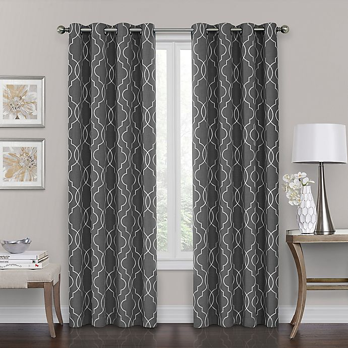 Alternate image 1 for Brent Grommet 100% Blackout Window Curtain Panel