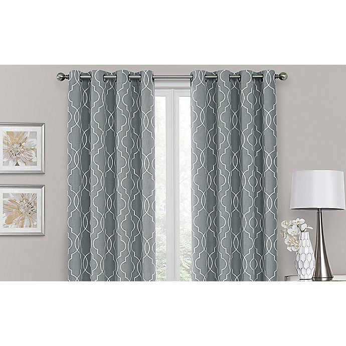 Brent Grommet 100% Blackout Window Curtain Panel