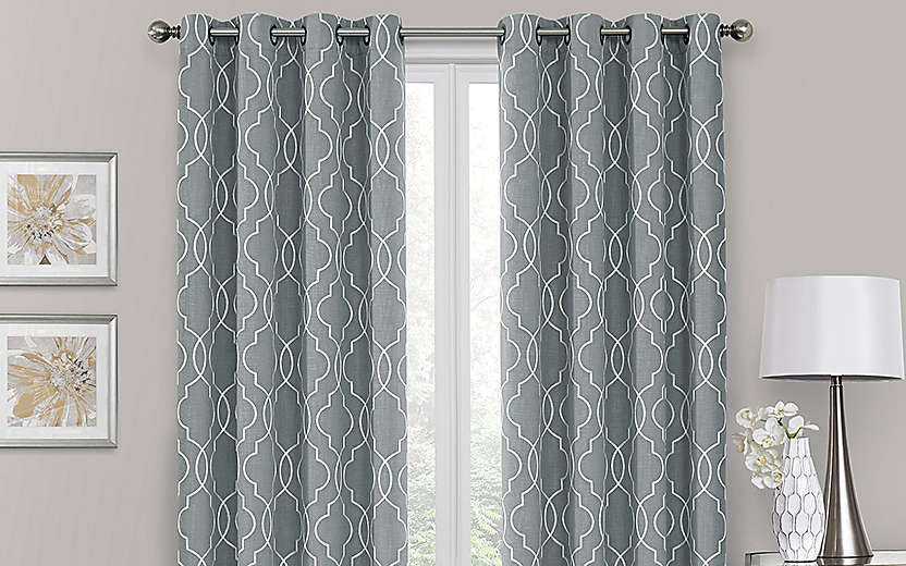 3 X 570 30 Curtain Panels Bed Bath