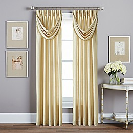 Spellbound Pinch-Pleat Window Curtain Panel with Sound Asleep Curtain Liner