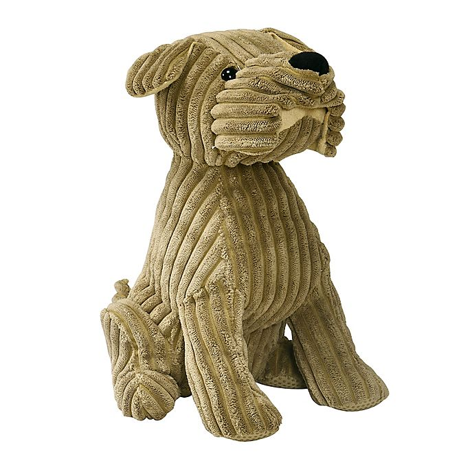 Alternate image 1 for Morgan Home Corduroy Dog Draft Guard in Brown