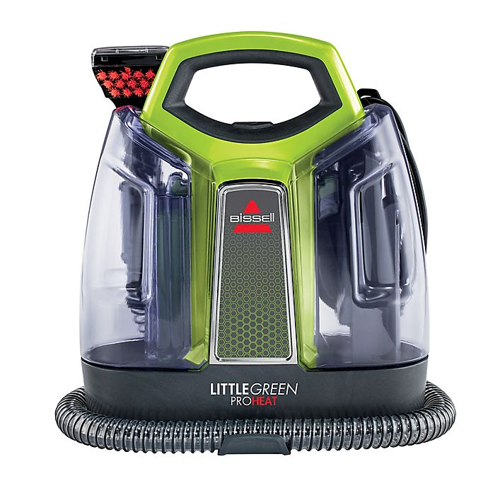 Alternate image 1 for BISSELL® Little Green® ProHeat® Portable Cleaner in Lime Green