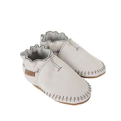 Robeez® Soft Soles Classic Moccasin in Grey