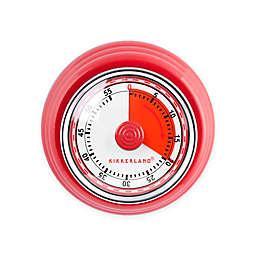 Kikkerland® Magnetic Kitchen Timer in Red