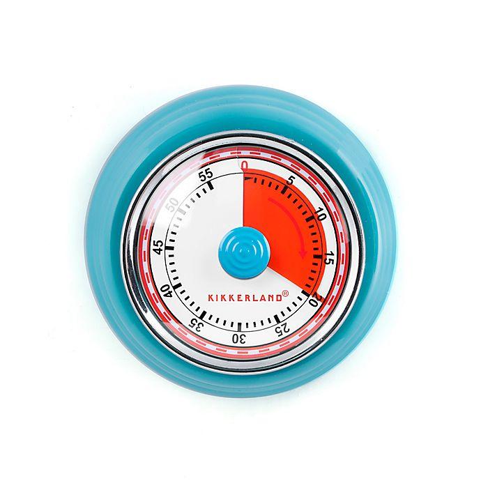 Alternate image 1 for Kikkerland® Magnetic Kitchen Timer in Blue