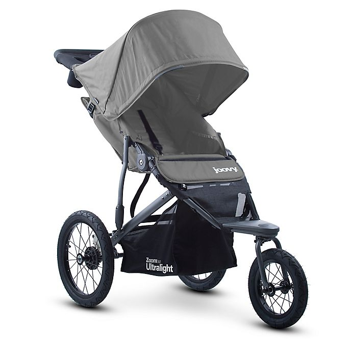 Alternate image 1 for Joovy® Zoom 360 Ultralight Jogging Stroller in Charcoal