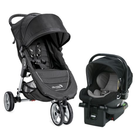 Baby Jogger® City Mini® Travel System in Black   buybuy BABY