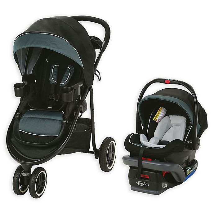 Alternate image 1 for Graco® Modes™ 3 Lite XT Travel System in Current