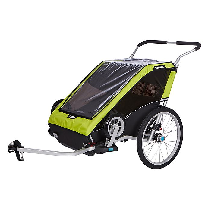 Alternate image 1 for Thule® Chariot Cheetah XT 2 Trailer in Chartreuse