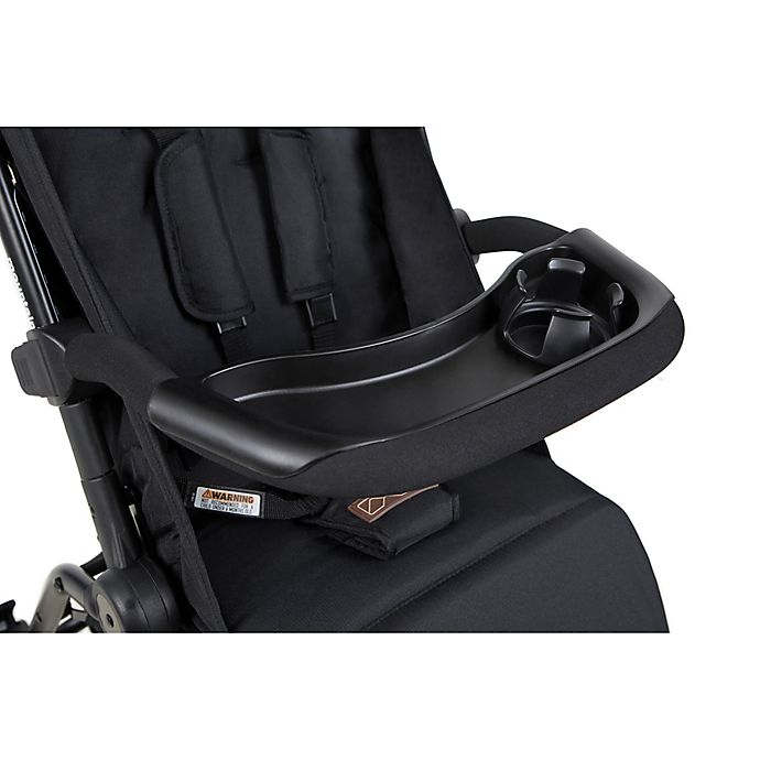Alternate image 1 for Mountain Buggy® Nano Grab Bar and Food Tray Set in Black