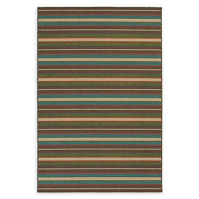 Alternate image 1 for Tommy Bahama® Seaside Indoor/Outdoor Multicolor Rug
