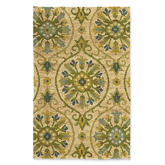 Alternate image 1 for Tommy Bahama® Valencia 10' x 13' Area Rug in Beige/Green